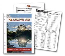 2021 8.5 x 11 Printable pdf Christian Day Planner
